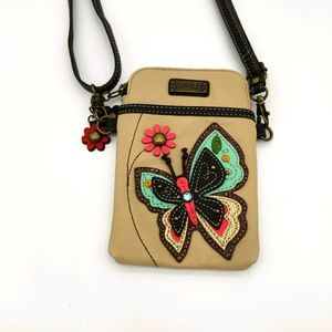 Chala Butterfly cellphone crossbody bag NWOT
